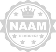 geboortesticker label