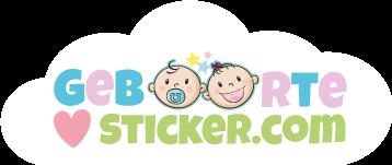 Geboortesticker - Geboortesticker bestellen in vele uitvoeringen